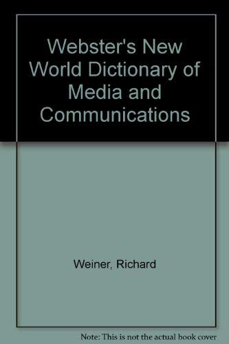 9780139697593: Webster's New World Dictionary of Media and Communications