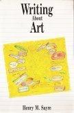 9780139697678: Writing About Art