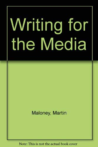 9780139705588: Writing for the media