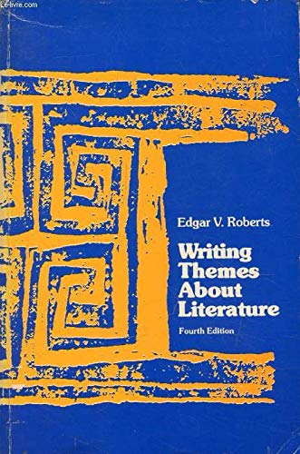 9780139705823: Writing themes about literature