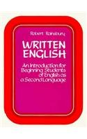 9780139706738: Written English: An Introduction for Beginning Students of English as a Second Language