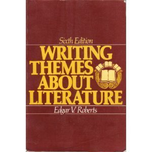 9780139707575: Writing Themes about Literature