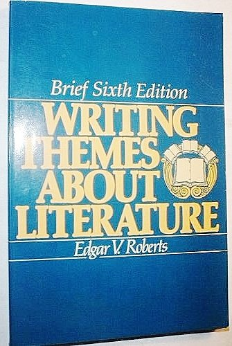 9780139708077: Writing Themes About Literature