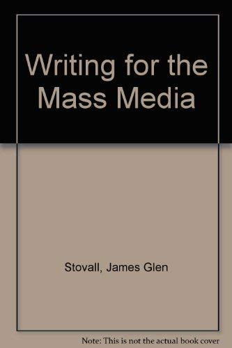 9780139708985: Writing for the Mass Media