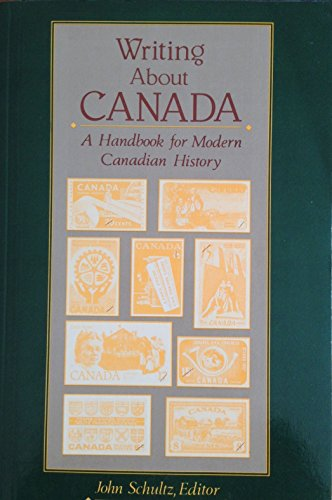 9780139709302: Writing About Canada: A Handbook for Modern Canadian History