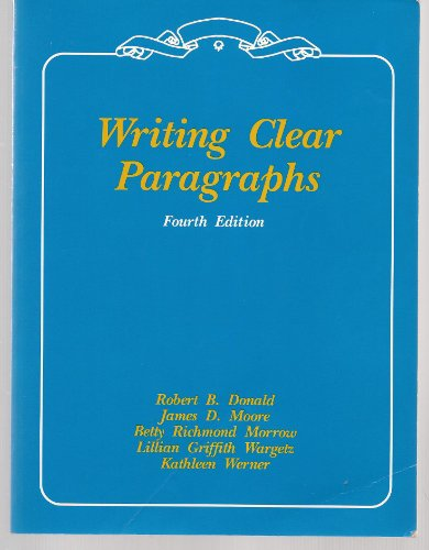 writing clear essays donald