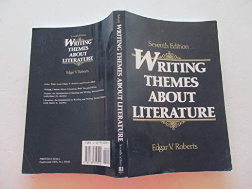 9780139710520: Writing Themes about Literature