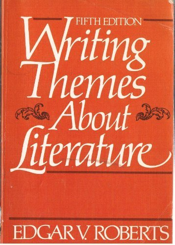 9780139716553: Writing Themes About Literature