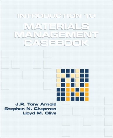 9780139732232: Introduction to Materials Management: Casebook