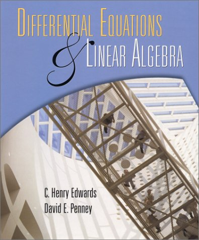 9780139737510: Differential Equations and Linear Algebra