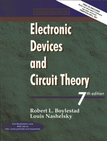 9780139737770: Electronic Device Circuit Theory (Prentice Hall international editions)