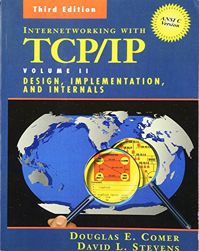 9780139738432: Internetworking with TCP/IP Volume 2 : Design, Implementation and Internals Ansi C Version