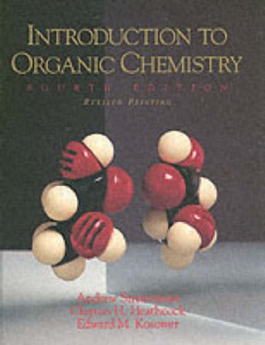 9780139738500: Introduction to Organic Chemistry, Revised Printing (4th Edition)