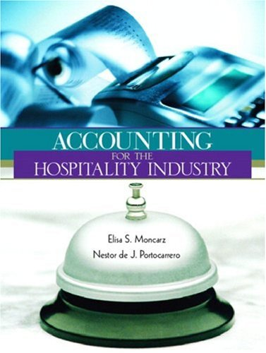 9780139738845: Accounting for Hospitality Industry