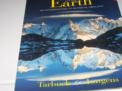 9780139741227: The Earth: An Introduction to Physical Geology