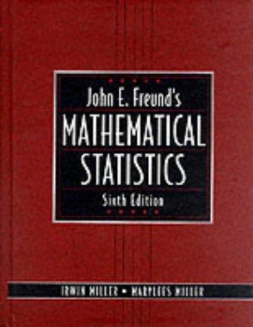 9780139741555: John E. Freund's Mathematical Statistics (International Edition)