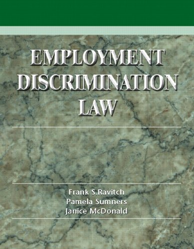 9780139748660: Employment Discrimination Law: Problems, Cases and Critical Perspectives