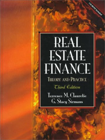 9780139749162: Real Estate Finance: Theory and Practice