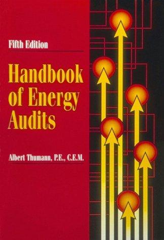 9780139752025: Handbook of Energy Audits