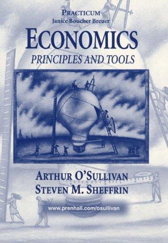 9780139752698: Economics: Principles and Tools : Practicum