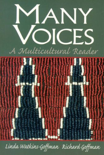 9780139756245: Many Voices: A Multicultural Reader