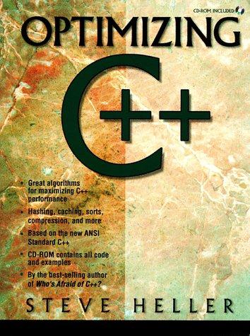 9780139774300: Optimizing C ++