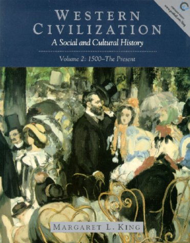 9780139786440: Western Civilization: A Social and Cultural History (Vol. 2, 1500-Present)