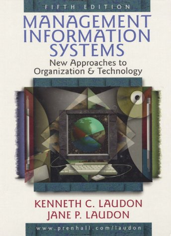 9780139794858: Management Information Systems: New Approaches to Organization and Technology