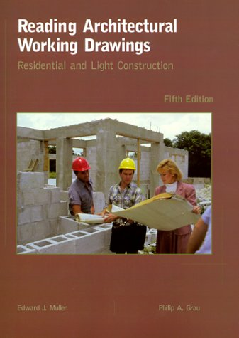 9780139797828: Reading Architectural Working Drawings: Residential and Light Construction (5th Edition)