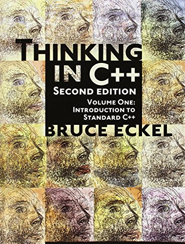 9780139798092: Thinking in C++, Vol. 1: Introduction to Standard C++, 2nd Edition