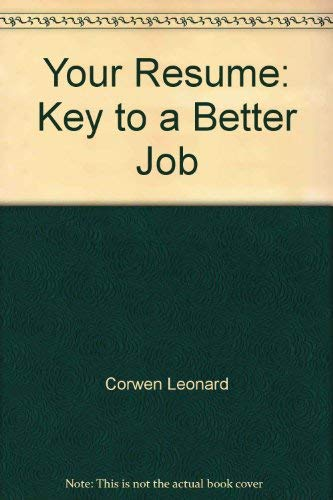 9780139807077: Your resume: Key to a better job