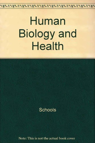 9780139811760: Human Biology and Health