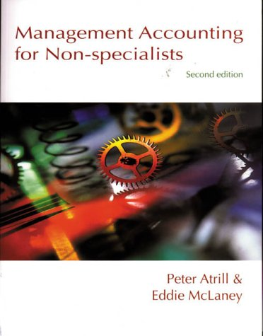 9780139829277: Management Accounting for Non-specialists