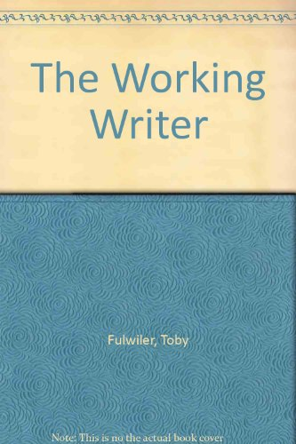 9780139834462: The Working Writer
