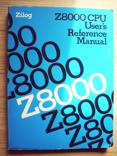 9780139838903: Z8000 Central Processing Unit User's Reference Manual