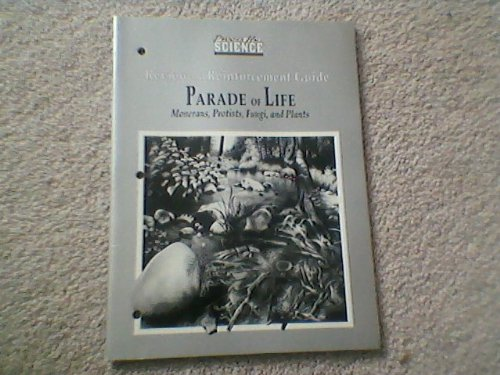 9780139872723: Parade of Life: Monerans, Protists, Fungi and Plants (Review and Reinforcement Guide)