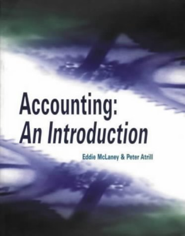 9780139897160: Introduction to Accounting