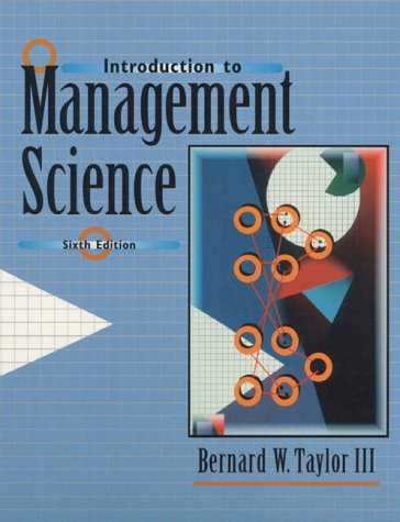 9780139897993: Introduction to Management Science