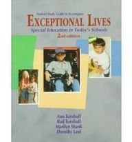 9780139977015: Student Study Guide to Accompany Exceptional Lives: Special Education in Today's Schools