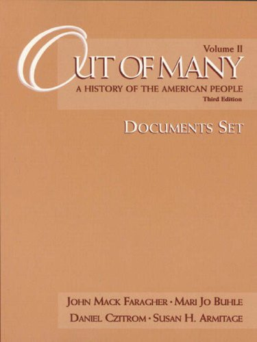 9780139995828: Out of Many: A History of the American People : Documents Set