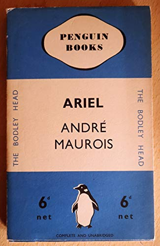 9780140000016: Ariel: A Shelley Romance