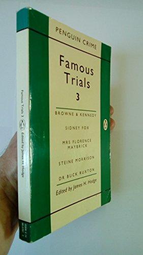 9780140007879: Famous Trials: v. 3
