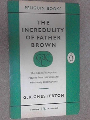 9780140010695: The Incredulity of Father Brown (Father Brown Mystery)