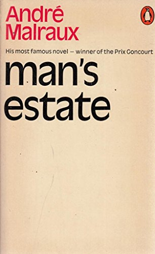 9780140015232: Mans Estate (Penguin Modern Classics)