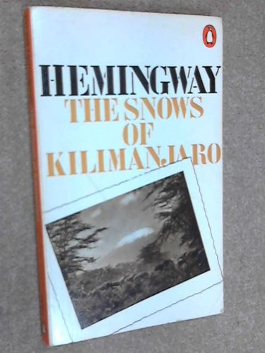 9780140018820: The Snows of Kilimanjaro and Other Stories (Modern Classics)