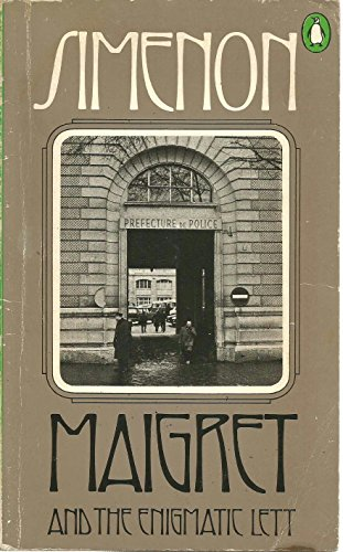 Maigret and the Enigmatic Lett: Simenon, Georges