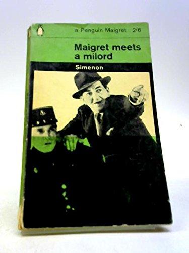 9780140020274: Maigret Meets a Milord