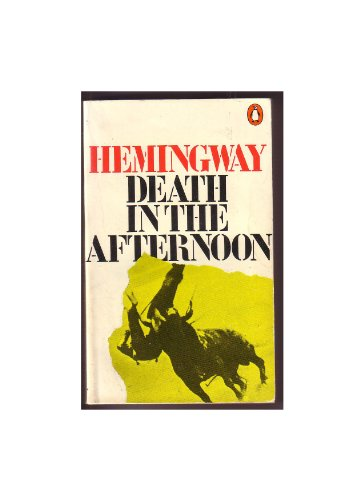 critiques of ernest hemingways novel death in Ed's note: an earlier version of this article erroneously referred to death in the afternoon as a novel it is, in fact, a work of nonfiction john banville john banville's forthcoming novel.