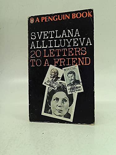 9780140028454: Twenty Letters to a Friend