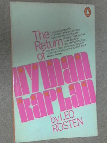 9780140029031: The Return of Hyman Kaplan